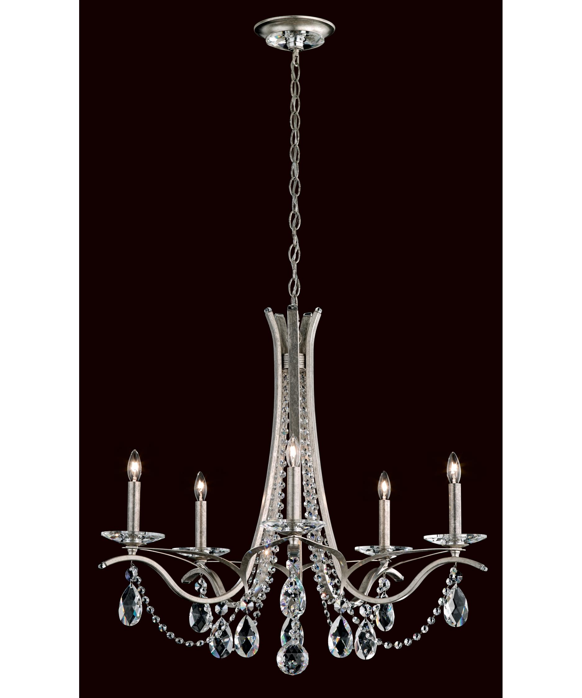 Schonbek Vesca Chandelier: Crystal Lighting Fixtures